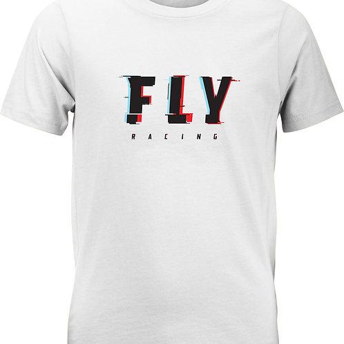 Fly Racing Youth Glitch Tee