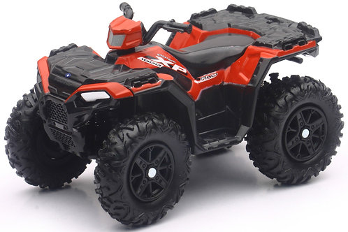 Mini ATV Replica of the Polaris Sportsman 1000 XP in Red