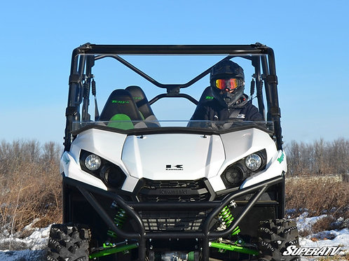 SuperATV Kawasaki Teryx 750 / 800 Scratch Resistant Full Windshield