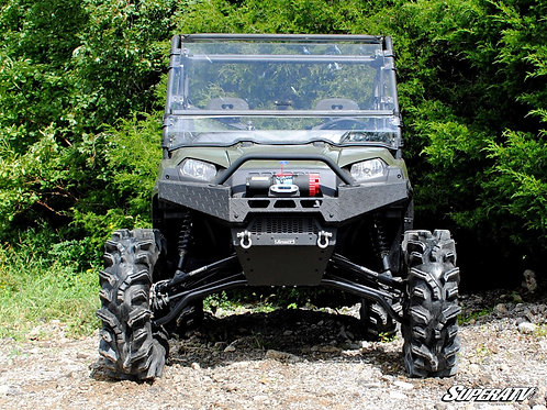SuperATV Polaris Ranger 900 Diesel Scratch Resistant Flip Windshield