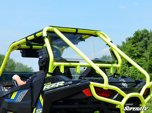 SuperATV Polaris RZR S 1000 Rear Windshield