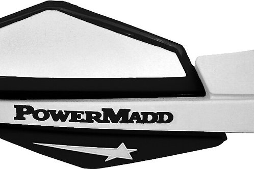 Powermadd Star Series Hand Guards in Black/White