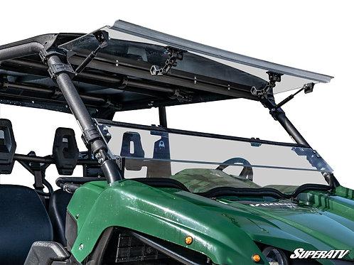 SuperATV Yamaha Viking Scratch Resistant Flip Windshield