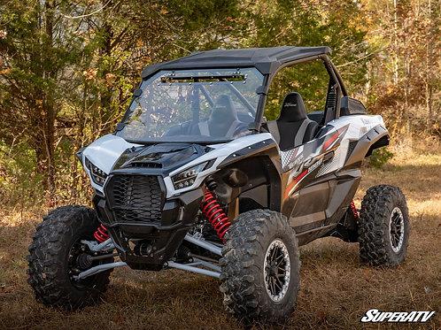 SuperATV Kawasaki Teryx KRX 1000 Scratch Resistant Vented Full Windshield