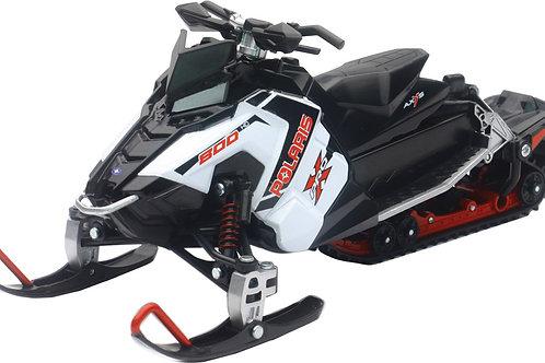 Toy Snowmobile Replica of Polaris PRO-X 800 in White