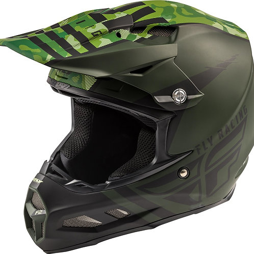 FLY Racing F2 Carbon Granite Helmet