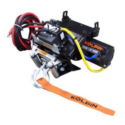 2,500 lb Steel Cable Quick Attach Winch - Honda ATV Models