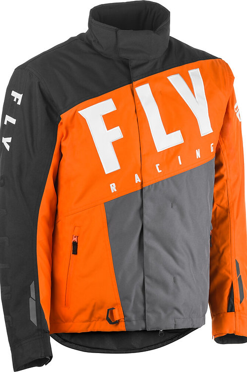 Fly Racing Fly SNX Pro Jacket Orange/Grey/Black