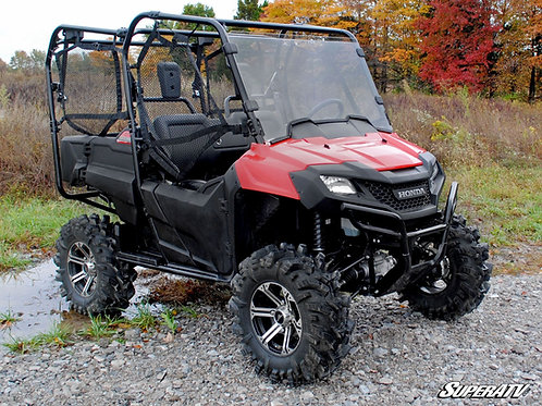 SuperATV Honda Pioneer 700 Scratch Resistant Full Windshield