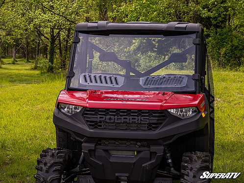 SuperATV Polaris Ranger 900 Scratch Resistant Vented Full Windshield