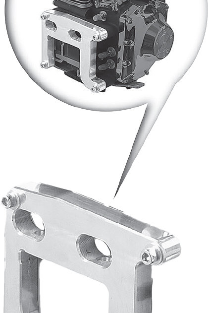 Paughco Twin Cam Motor Adapter Plate