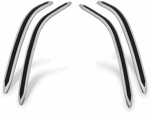 Show Chrome Accessories Gt Saddlebag Scuff Strips