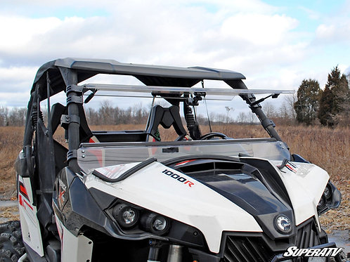 SuperATV Can-Am Maverick Scratch Resistant Flip Windshield