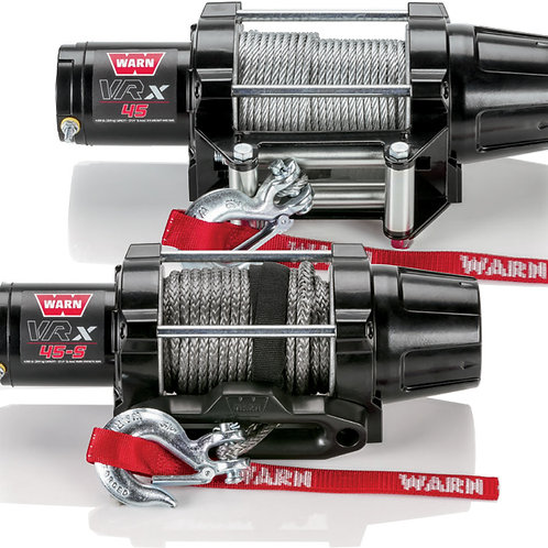 WARN VRX 4,500 lb Wire Rope Winch