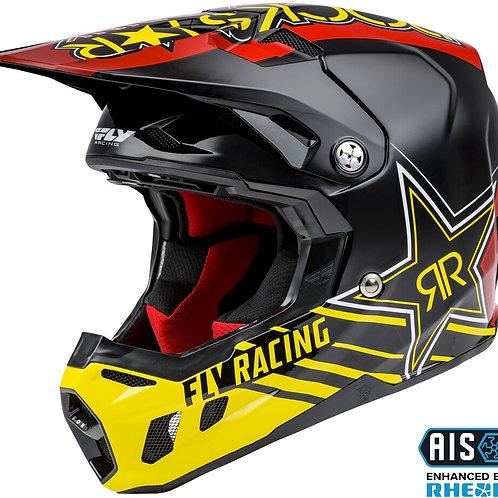 Free T-Shirt with Purchase! Fly Racing Formula CC Rockstar Helmet