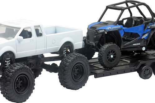 New-Ray Mini 4x4 Truck w/Sport Vehicle Replica
