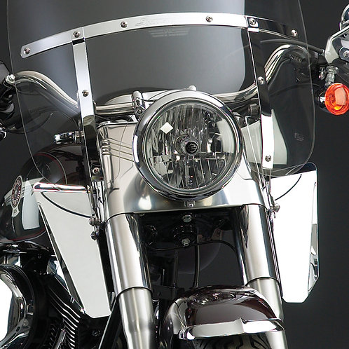 National Cycle Switchblade & Spartan Windshield Chrome Lowers