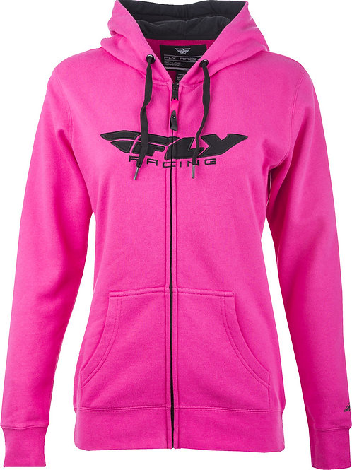 Fly Racing Fly Women's Corporate Zip Up Hoodie