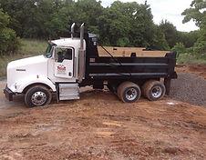 Dump Truck Dirt Work