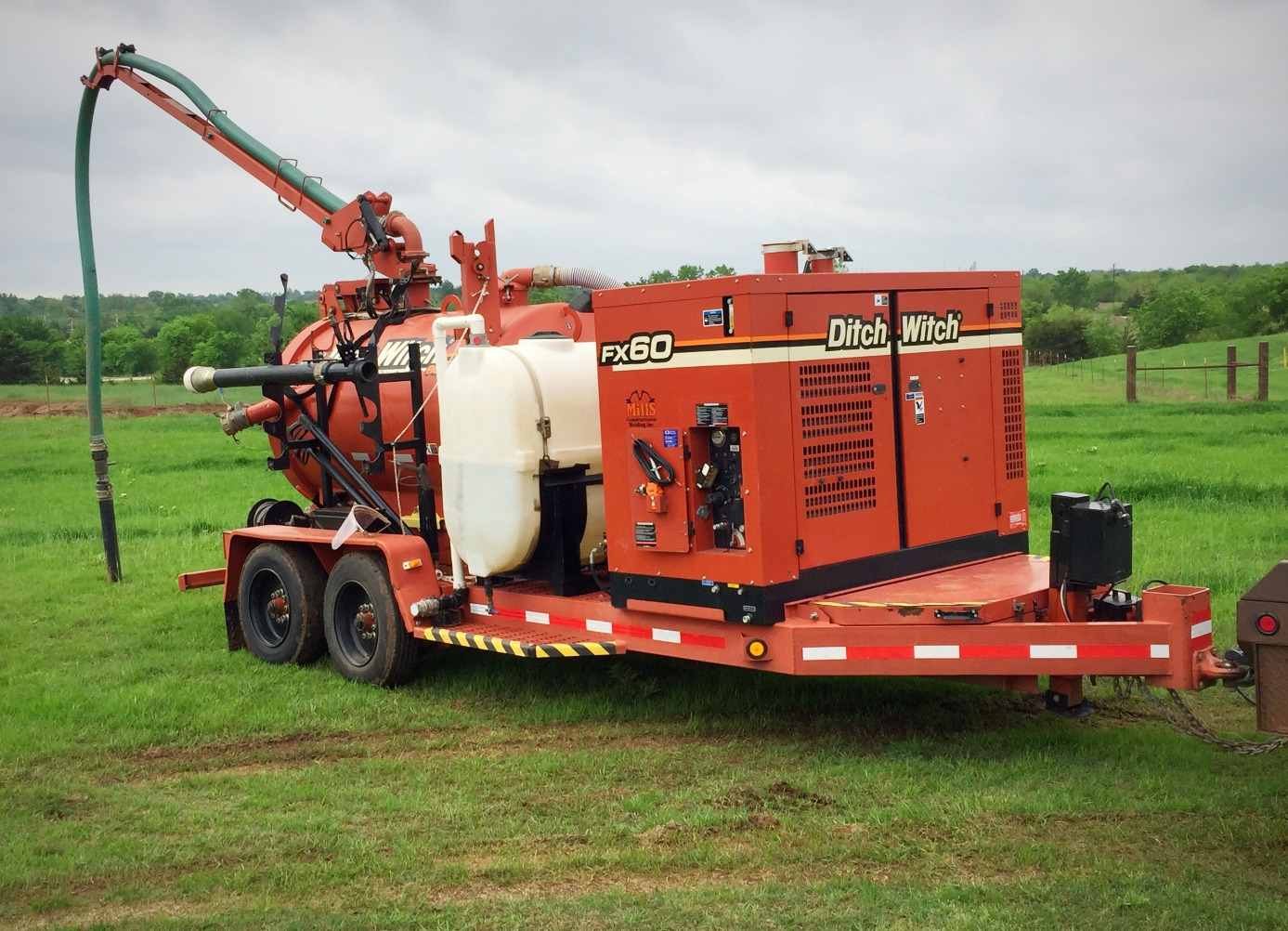 Hydro-Excavator Trailer