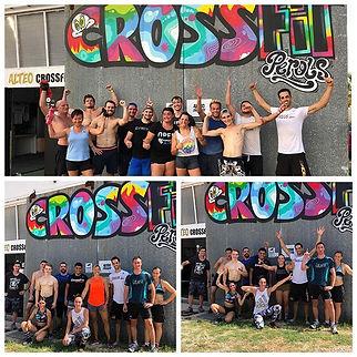 La communauté, le charme du CrossFit 😃.