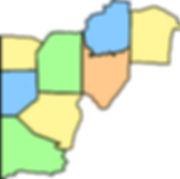 Western PA Counties stylized, May 2019.j