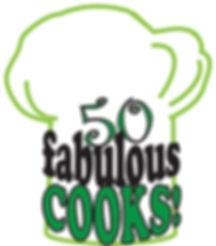 50 Fabulous Cooks 2017 Logo w-o spoon, s