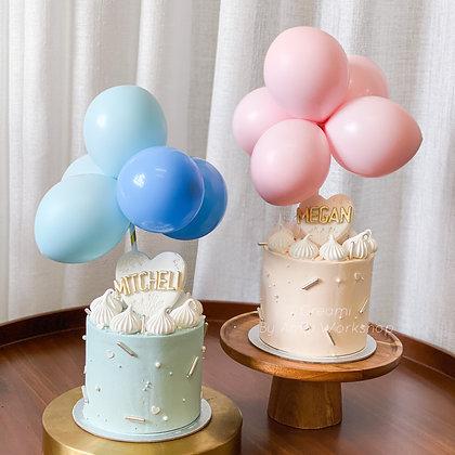 氣球束:5個氣球 (不單獨發售)