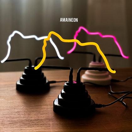 【傳統工藝】 獅子山玻璃霓虹燈(手攜式)
