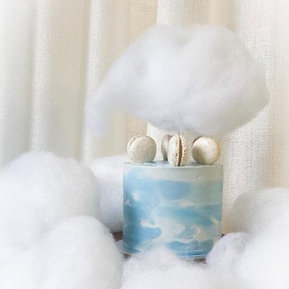藍天白雲馬卡龍蛋糕