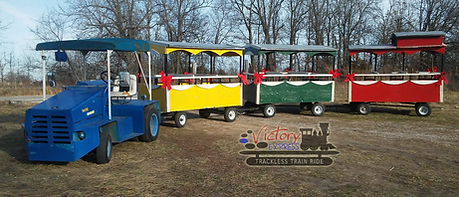 Victory Express trackless train ride