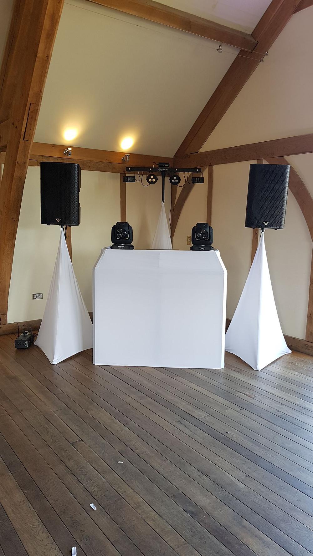 Sandburn Hall Wedding Disco