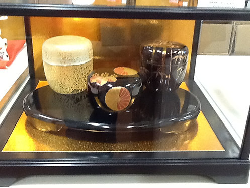 Glass Display Case- Height: 7 inches