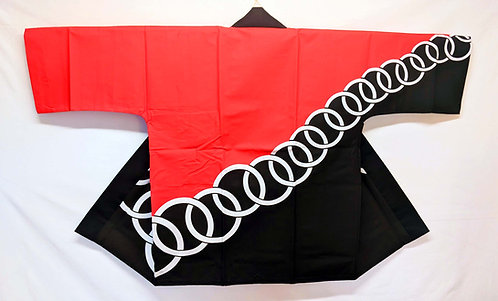 Black & Red with Rings Happi