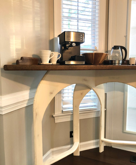 Coffee Station Table