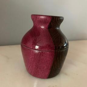 Purple Heart Ring Box