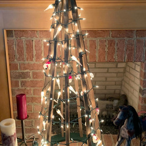 Tobacco Stick Christmas Tree