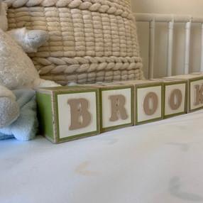 Baby Boy Name Blocks