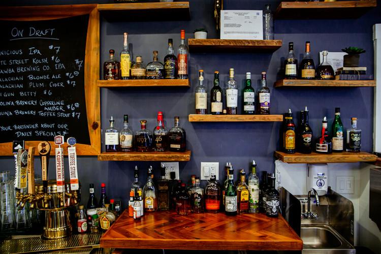 Bar Shelving