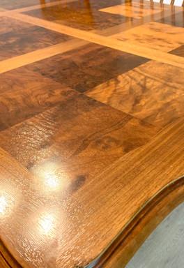 Walnut Burl Dining Table