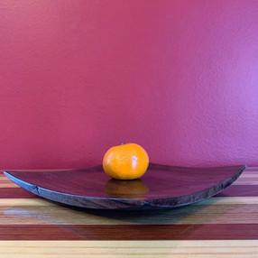 Walnut Display Plate