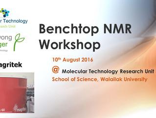 Benchtop NMR Workshop