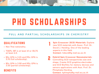 Call for Ph.D. Scholarship for Outstanding International Students applications