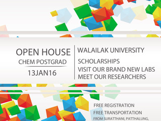Open House Chem Postgrad