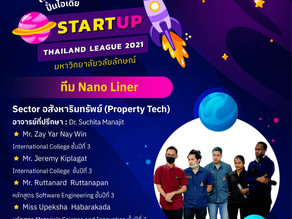 PhD Student enters the the next exciting step with Start Up Thailand League 2021
