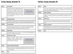 workshop schedule2