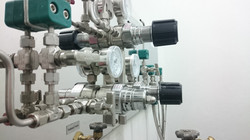 Ar gas controlling system