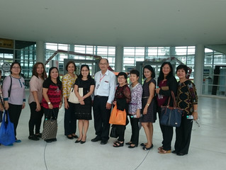 The College of Arts and Sciences, Central Luzon State University visited School of Science, Walailak