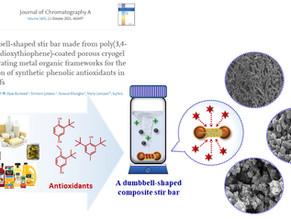New publication on composite stir bar adsorbent for food analysis