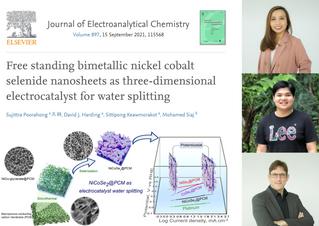 New electrocatalyst for water splitting
